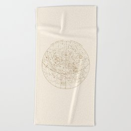Visible Heavens - Gold Beach Towel