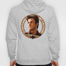 Cpt Malcolm Reynolds // Firefly // Nathan Fillion, Low Poly, Browncoats, Captain Tightpants Hoody