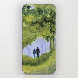 forest walk iPhone Skin