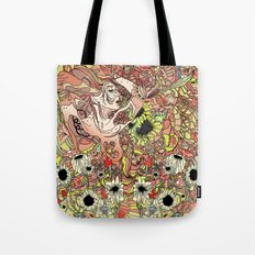 Comes in Three Tote Bag