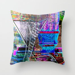 "The Only ""Real"" ""Good"" That Came From The Sex Pistols... [A Simple Constraint Series] Throw Pillow"