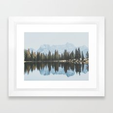 Italian Dolomites (landscape version) Framed Art Print