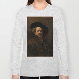Rembrandt van Rijn - Self-portrait Long Sleeve T-shirt