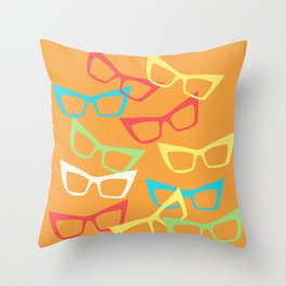 Becoming Spectacles Throw Pillow
