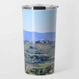 The hills of Tuscany Italy Travel Mug