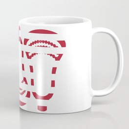 Lacrosse US Flag Head Trio Coffee Mug