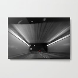 Fort Pitt Tunnels - Pittsburgh Metal Print