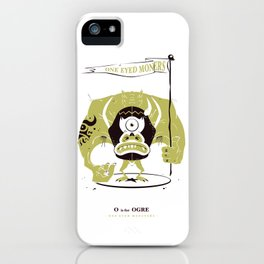 O is for Ogre iPhone Case