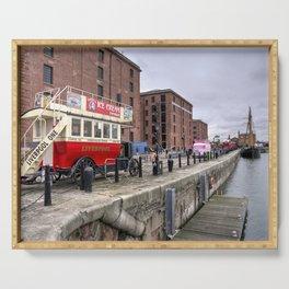 Liverpool Docks Bus  Serving Tray