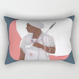 Cuban Santera Rectangular Pillow