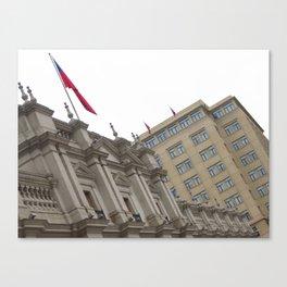 Palacio de la Moneda Canvas Print