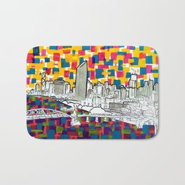 BRISBANE POSTCARD SERIES 019 Bath Mat