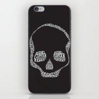 rebel iPhone & iPod Skins featuring Rebel by Estaschia Cossadianos