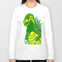 dino Long Sleeve T-shirts featuring Dino by intermittentdreamscapes