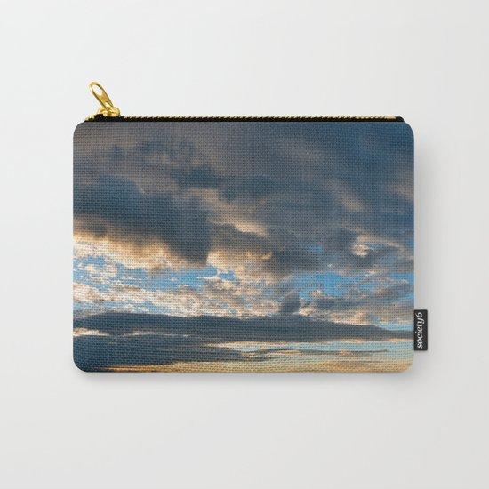 Vibrant Sunrise Cloudscape Carry-All Pouch