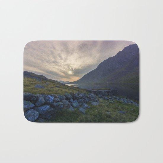 Llyn Ogwen Sunrise Bath Mat