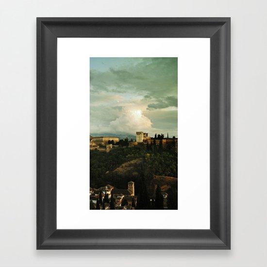 Up on the Hill  II Framed Art Print