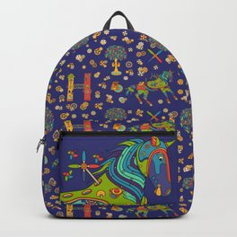 Horse, cool wall art for kids and adults alike Backpack