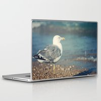 swallow Laptop & iPad Skins featuring Swallow by Piksi