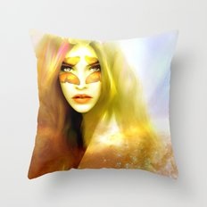 Butterfly angel Throw Pillow