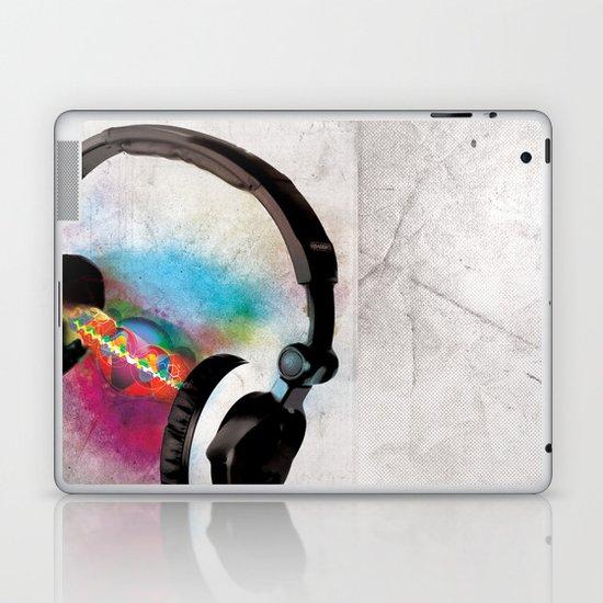 feeling sound Laptop & iPad Skin
