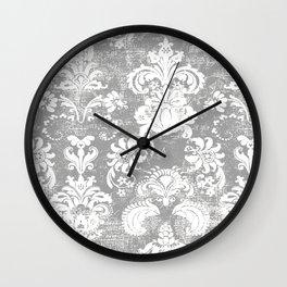 gray Breeze Wall Clock