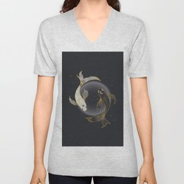 Fade Away - Illustration Unisex V-Neck