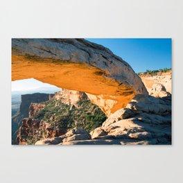 Golden Arch Canvas Print
