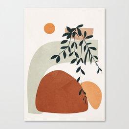 Soft Shapes I Canvas Print
