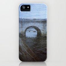 Paris Bridge & Seine Holga Double Exposure iPhone (5, 5s) Slim Case