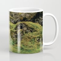 hobbit Mugs featuring Hobbit House by Alex Tonetti Photography