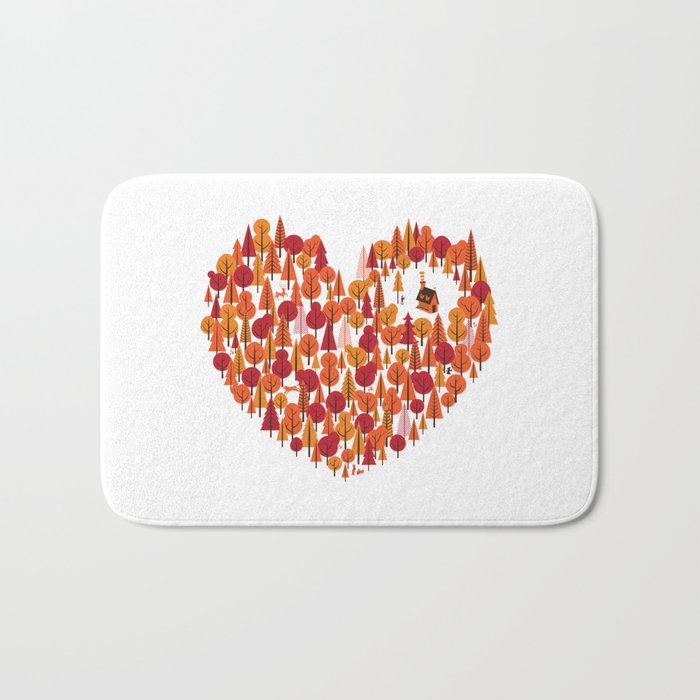 Wild at Heart Bath Mat