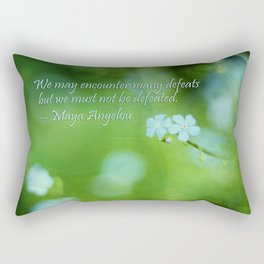 Inspire Me Rectangular Pillow