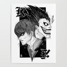 Kira and Ryuk Poster