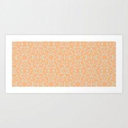 Dry Salmon Art Print