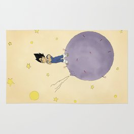 The Little Prince Of Saiyans Rug