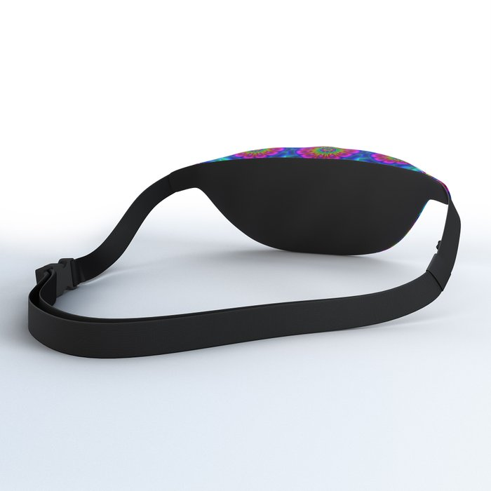 Flower  rainbow-colored Fanny Pack
