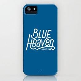 Blue Heaven iPhone Case