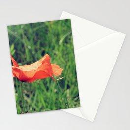 Czerwone Maki - Two Stationery Cards