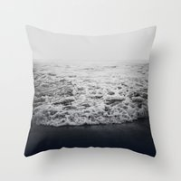 infinity Throw Pillows featuring Infinity by Leah Flores