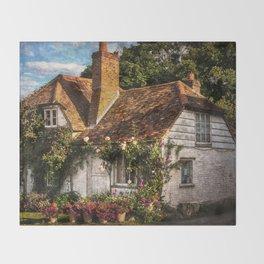 A Chiltern Cottage Throw Blanket