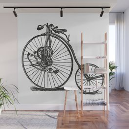 Old bicycle Wall Mural