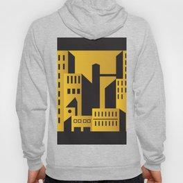 Golden city art deco Hoody