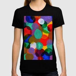 Colorful Circle Smash T-shirt