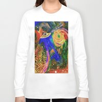 i want to believe Long Sleeve T-shirts featuring I WANT TO BELIEVE by N3GATIVE CR33P