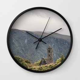 Glendalough Mountain Monastery Wall Clock