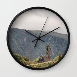 Glendalough Mountain Monastery Wall Clock