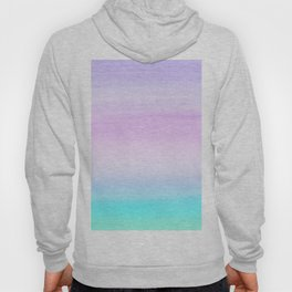 Touching Unicorn Girls Watercolor Abstract #1 #painting #decor #art #society6 Hoody