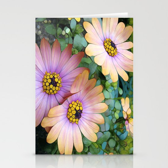Glowing Gerbera's Stationery Cards