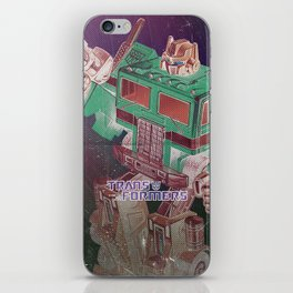 The Transformers / Optimus prime iPhone Skin